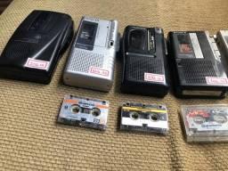4 gravadores antigos
