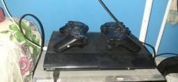 Ps3 2 controles 3 jogos na memoria