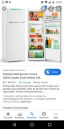2 meses de comprada geladeira Consul 336 litros duplex