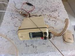 Radio nautico unidem com antena