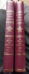 Livro O Mártir do Gólgota da 2 Volumes em Capa Dura
