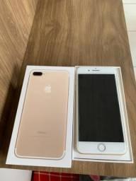 Vende-se Iphone 7 plus gold com 2 meses de uso