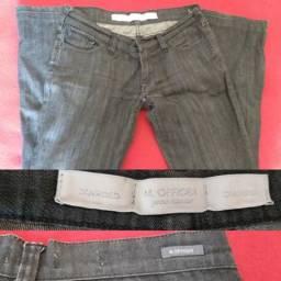 Calça jeans m oficer Tam 38