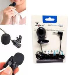 Microfone de Lapela Knup