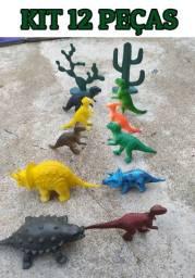 Kit 12 Dinossauros Incríveis - Promoção