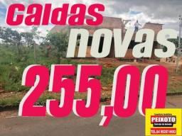 CALDAS NOVAS TERRENO A PRESTAÇÃO