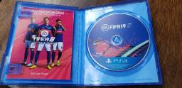 Jogo Fifa 2019 Ps4 Mid Fisica Em Inglês ( Cd Japonês )