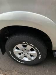 Kit jogo de roda com pneu bf goodrich