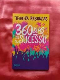 Livro 360 Dias de Sucesso - Thalita Rebouças