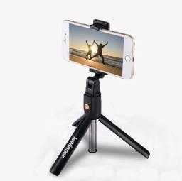 Pau De Selfie Lewinner Sem Fio Bluetooth Mini Tripé