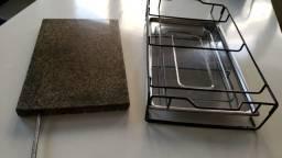Grill Pedra Cozimento Carne Elétrico 220v