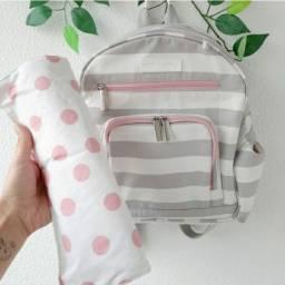 Mochila bebê com trocador Master Bag Baby.