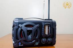 Caixa de som amplificada Amvox ACA 90 Clock
