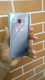 Samsung s8 com trincos no vidro