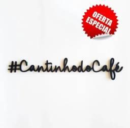 Painel #cantinho Do Café - Decorativo Para Ambiente - Mdf