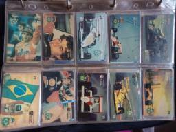 Coleção de cartão completa Ayrton Senna
