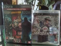 4 Jogos de Ps3 2K Collection e Madden NFL 17 (Lacrados) os 2 por 80,00 ou 50,00 Cada
