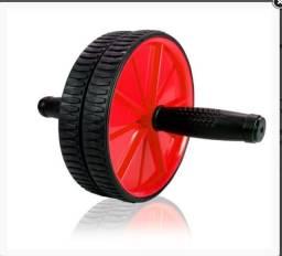 Título do anúncio: Roda Abdominal Exercício Lombar Barriga Tanquinho AbWheel Treine 5 Grupos Musculares