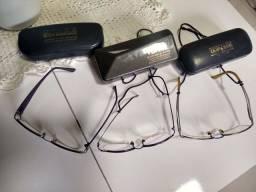 Vendo 3 armações de óculos
