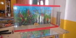 Vendo aquário e faço sob medida