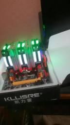 KIT TOP LGA 2011 16GB DDR3 1333 4X4GB PROC E5 2620V2 6/12 E COLER RGB