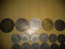 Pra colecionador moedas antigas