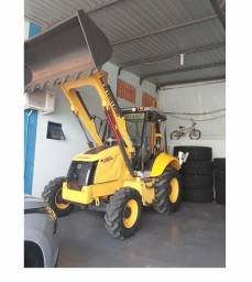 Retroescavadeira new holland b95 b com divida 2015