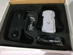 Drone Falcon 1808 - Câmera HD 1080P - Sensor Óptico - Imagem no Celular - 3 Baterias !