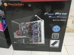 Gabinete gamer P3 Thermaltake core P3 SE Snow Edition sem cabo riser