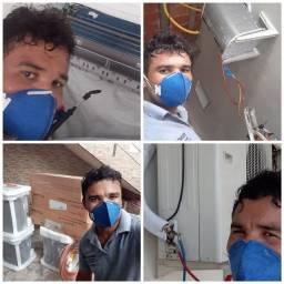 Técnico de ar condicionado Split