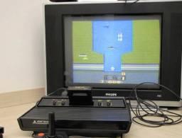 Atari Polyvox com controle e 4 cartuchos *Revisado e com Garantia