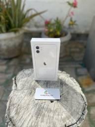 iPhone 11 128GB branco (Lacrado)