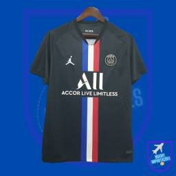 Camisa PSG Preta Azulada 2019/2020