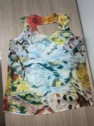 Blusa simples veste P e M