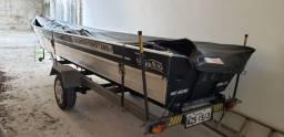 Barco 6 metros borda alta super novo