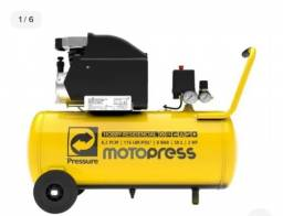 Compressor de ar elétrico Pressure Moto Press 50L (110v)