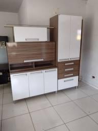 Armário de cozinha Bartira bem conservado (ENTREGO)