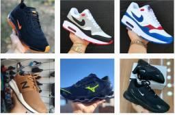 Tênis Nike Adidas Mizuno