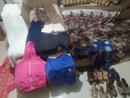 Vendo roupas  e calçados para bazzar