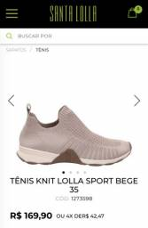 Tênis sapato da santa Lola