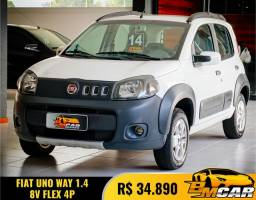 Fiat UNO WAY 1.4 EVO Fire Flex 8V 5p 2014 Flex