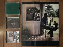 Cd Pink Floyd Ummagumma Duplo C/ Poster