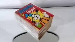 Gibis pateta 1 série lote coleção editora abril 32 revistas em quadrinhos Disney