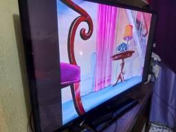 Tv Samsung 51 polegadas de plasma não é smart acompanha controle remoto