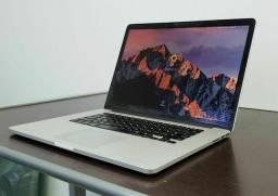 """Macbook PRO 15"""" Retina / Processador  I7 Com SSD  - ACEITO TROCA"""