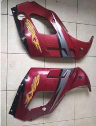 Carenagens laterais Suzuki Gsx750f vermelho