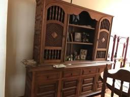 Título do anúncio: Mesa e estante de madeira