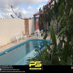 Casa com 3 dormitórios à venda por R$ 300.000 - Carapibus - Conde/PB