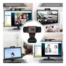 Webcam 720p Hd Com Microfone Integrado!