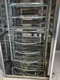 Máquina de Assar Frangos E Carnes Giratória - Produto novo -